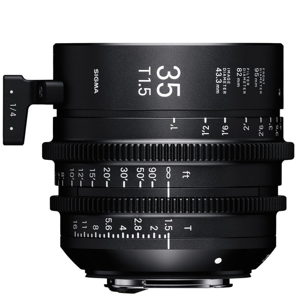 Sigma 35mm T1.5 Cine Lens for Sony