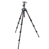 Manfrotto MKBFRC4-BH BeFree Carbon Fiber Tripod, tripods travel & compact, Manfrotto - Pictureline  - 3