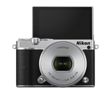 Nikon 1 J5 Digital Camera with 10-30mm Lens Silver, camera mirrorless cameras, Nikon - Pictureline  - 3