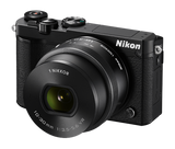 Nikon 1 J5 Digital Camera with 10-30mm Lens Black, camera mirrorless cameras, Nikon - Pictureline  - 3