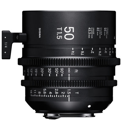 Sigma 50mm T1.5 Cine Lens for Sony