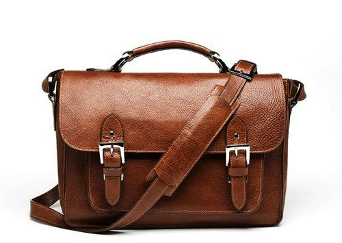 ONA The Brooklyn Camera Satchel Chestnut, bags shoulder bags, ONA - Pictureline  - 1