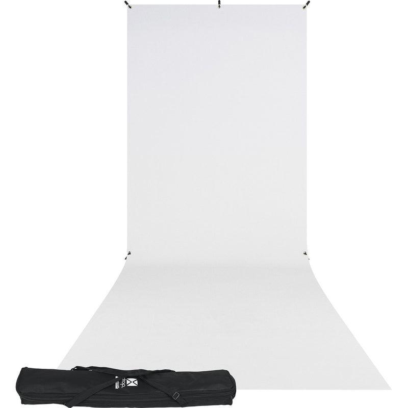 Westcott X-Drop Kit (5x12' High-Key White Sweep)