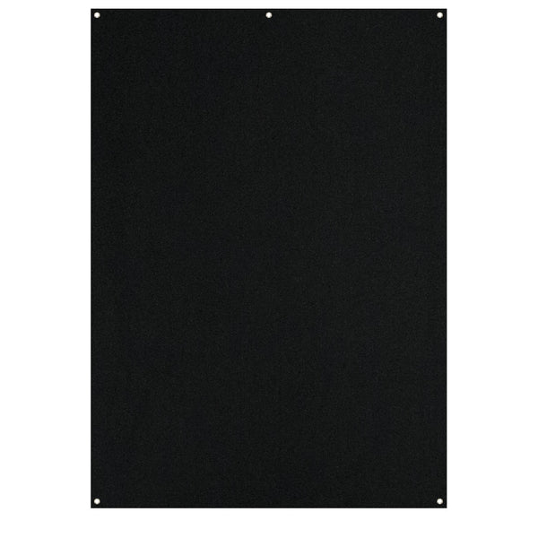 Westcott X-Drop Black Backdrop 5'x7' (Fabric Only)
