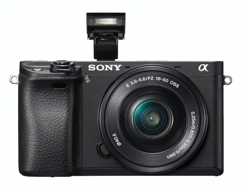 Sony Alpha a6300 Mirrorless Digital Camera with E-Mount 16-50mm Lens, camera mirrorless cameras, Sony - Pictureline  - 1