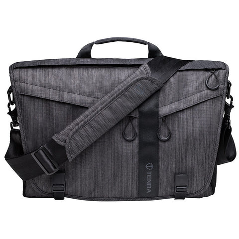 Tenba DNA 15 Slim Graphite Messenger Bag, bags shoulder bags, Tenba - Pictureline  - 1