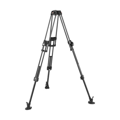 Manfrotto MVTTWINFCUS 645 Fast Twin Leg Carbon Fiber Video Tripod