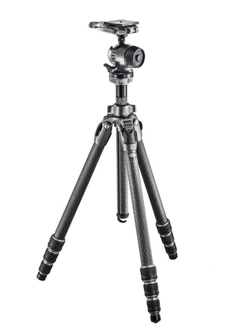 Gitzo GK2542-80QD Series 2 Mountaineer eXact Carbon Fiber Kit w/Ball Head, tripods photo tripods, Gitzo - Pictureline  - 1