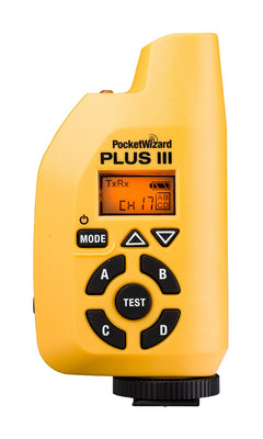 Pocket Wizard Plus III Transceiver - Yellow, discontinued, Pocket Wizard - Pictureline