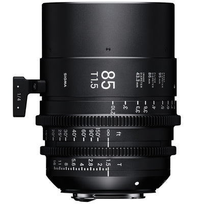 Sigma 85mm T1.5 Cine Lens for Sony