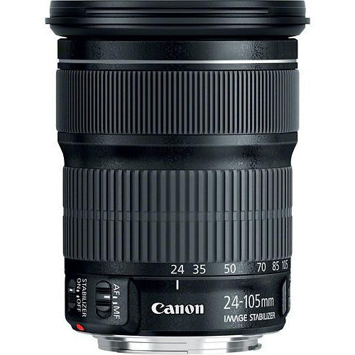 Canon EF 24-105mm f3.5-5.6 IS STM Lens, lenses slr lenses, Canon - Pictureline  - 1