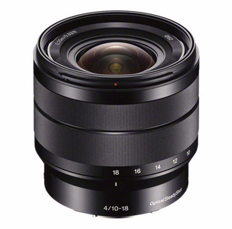 Sony E-Mount 10-18mm f/4 OSS Lens