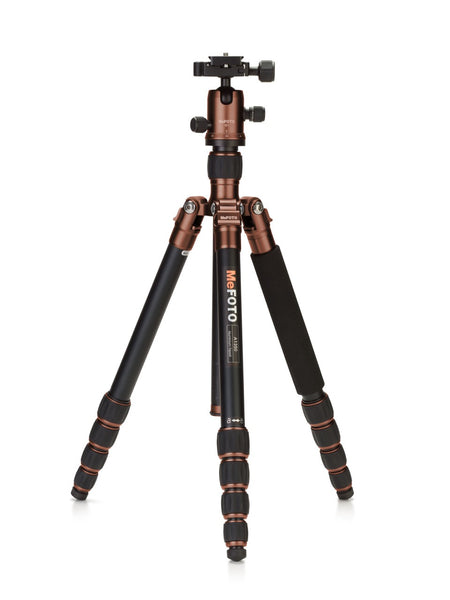 MeFOTO RoadTrip Travel Tripod Kit (Chocolate), discontinued, MeFOTO - Pictureline  - 1