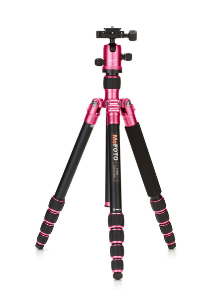 MeFOTO RoadTrip Travel Tripod Kit (Hot Pink), discontinued, MeFOTO - Pictureline  - 1