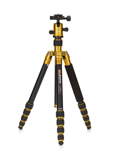 MeFOTO RoadTrip Travel Tripod Kit (Yellow), discontinued, MeFOTO - Pictureline  - 1