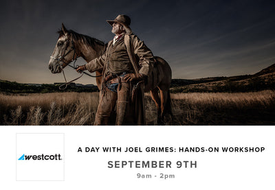 A Day with Joel Grimes: Hands On Workshop (Sept 9th)