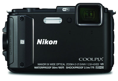 Nikon Coolpix AW130 Digital Camera Black, discontinued, Nikon - Pictureline  - 1