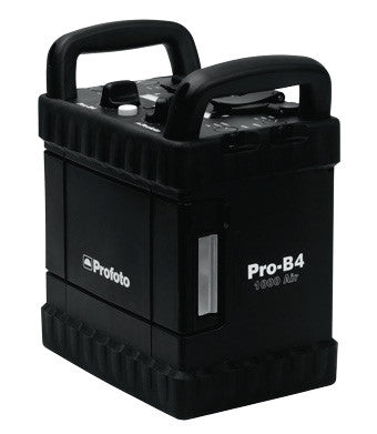 Profoto Pro-B4 1000 Air Pack with Battery and Charger, lighting studio flash, Profoto - Pictureline