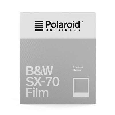 Polaroid B&W Film for Polaroid SX-70 Cameras (8)