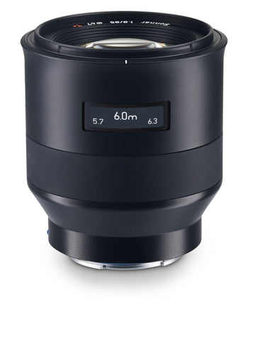 Zeiss Batis 85mm f1.8 Lens for Sony E-Mount, lenses mirrorless, Zeiss - Pictureline  - 1