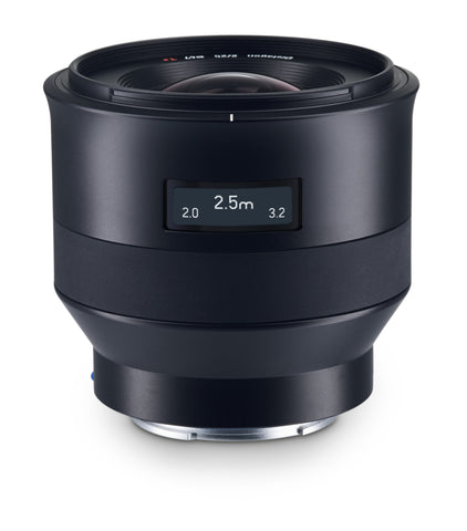 Zeiss Batis 25mm f2.0 Lens for Sony E-Mount, lenses mirrorless, Zeiss - Pictureline  - 1