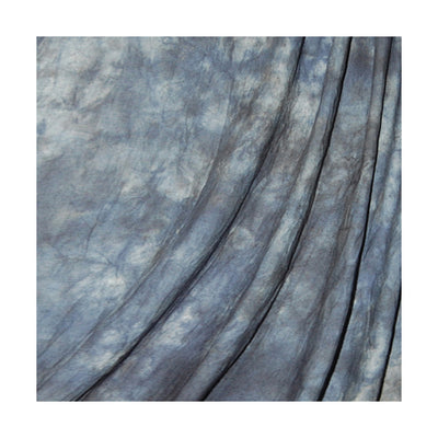 Savage Blue Winter Crushed Muslin 10'x24'