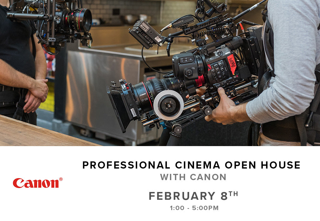 Professional Cinema Open House with Canon (February 8th, Thursday)