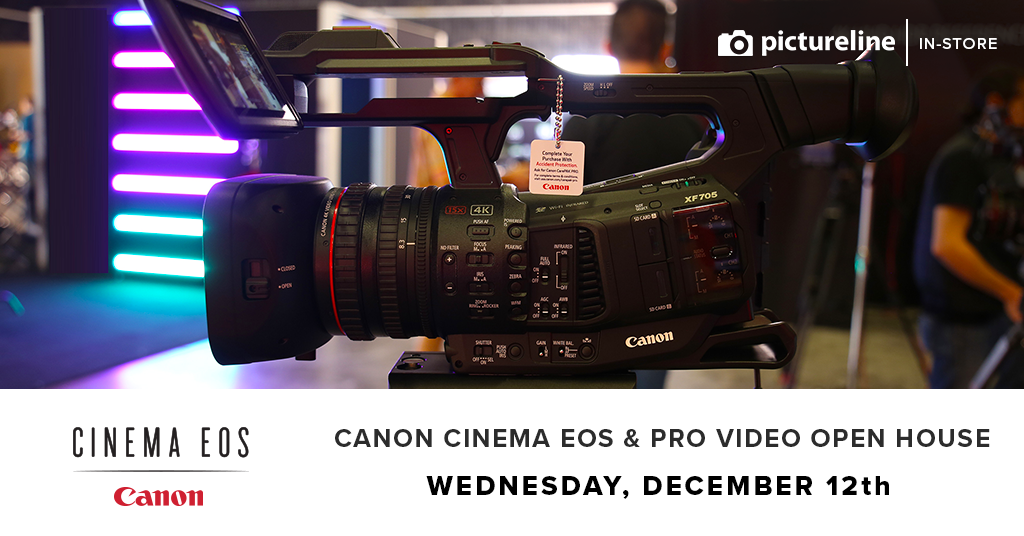 Canon Cinema EOS & Professional Video Open House (December 12th, Wednesday)