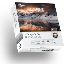 Cokin ND Grad Kit (121L, 121M, 121S), lenses filters nd, Cokin - Pictureline