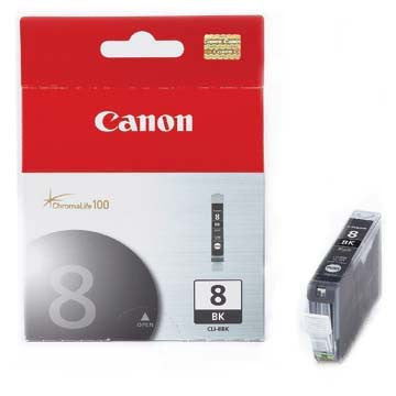Canon Ink CLI-8BK Black, printers ink small format, Canon - Pictureline