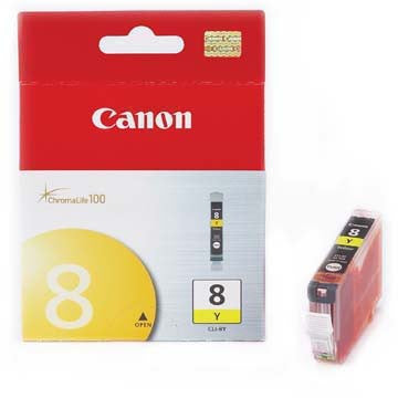 Canon Ink CLI-8Y Yellow, printers ink small format, Canon - Pictureline