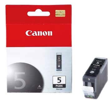 Canon Ink PGI-5BK Black, printers ink small format, Canon - Pictureline