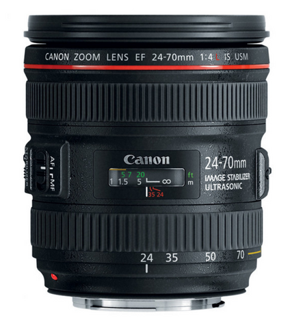 Canon EF 24-70mm f4L IS USM Lens, lenses slr lenses, Canon - Pictureline  - 1