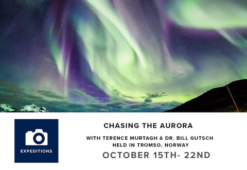Chasing the Aurora with Terence Murtagh & Dr. Bill Gutsch (October 15-22, 2017)
