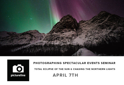 Photographing Spectacular Events Seminar (April 7th)