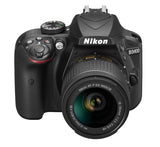 Nikon D3400 DX-format Digital SLR Kit w/ 18-55mm DX G VR Zoom Lens Black, camera dslr cameras, Nikon - Pictureline  - 3