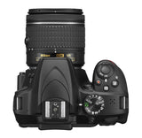 Nikon D3400 DX-format Digital SLR Kit w/ 18-55mm DX G VR Zoom Lens Black, camera dslr cameras, Nikon - Pictureline  - 7