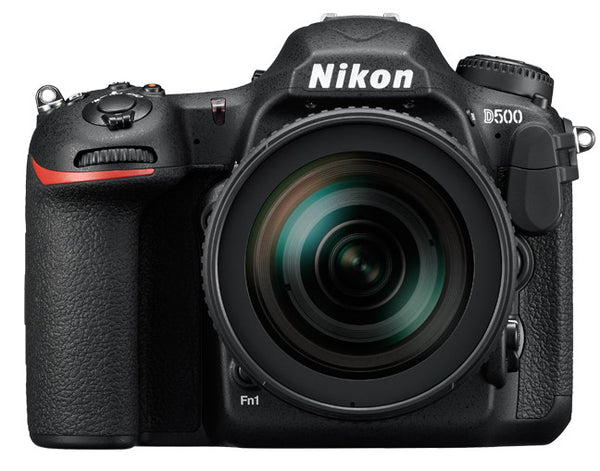 Nikon D500 DX Digital SLR w/ 16-80mm ED VR Lens