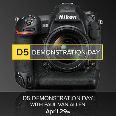 Nikon D5 Demonstration Day (April 29th), events - past, Pictureline - Pictureline