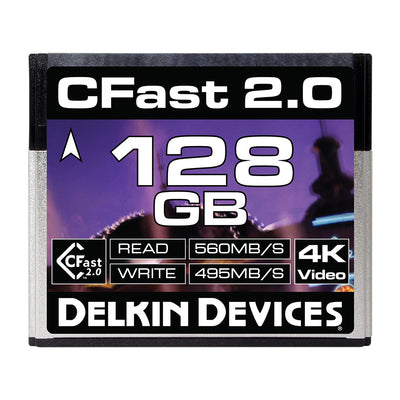 Delkin 128GB Cinema CFast 2.0 Memory Card