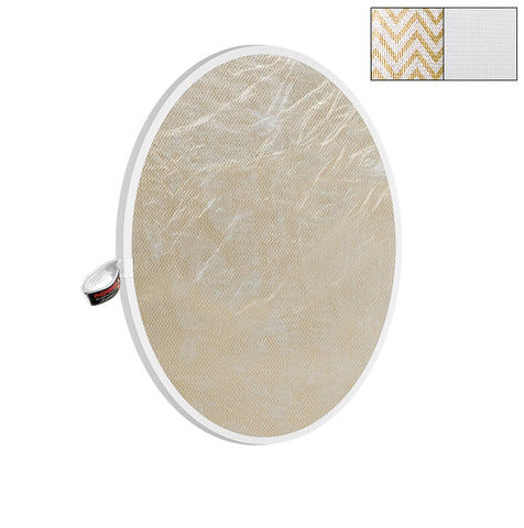 "Photoflex 32"" Soft Gold/White LiteDisc Reflector"