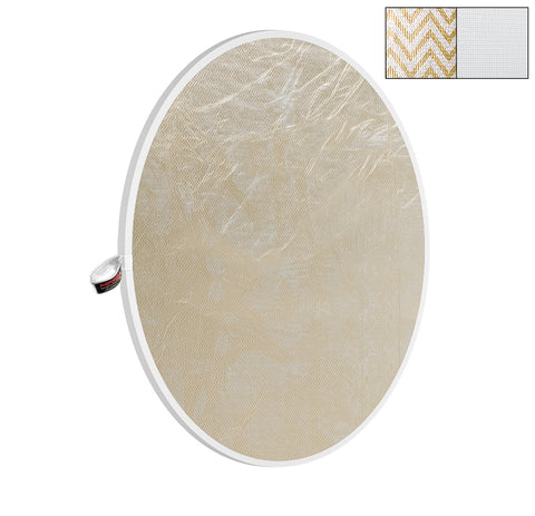 "Photoflex 52"" Soft Gold/White LiteDisc Reflector"
