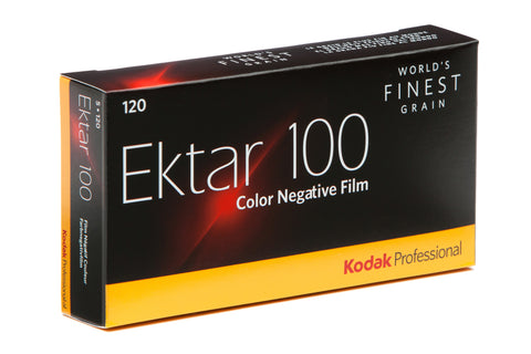 Kodak Ektar 100 120 Color Neg. Film (One Roll), camera film, Kodak - Pictureline  - 1
