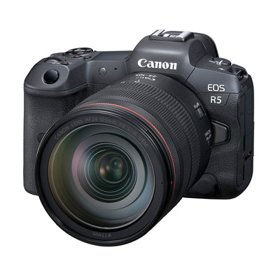 Canon EOS R5 Mirrorless Camera with RF 24-105mm f4L IS USM Kit