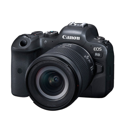 Canon EOS R6 Mirrorless Camera with RF 24-105mm f4-7.1 IS STM Kit
