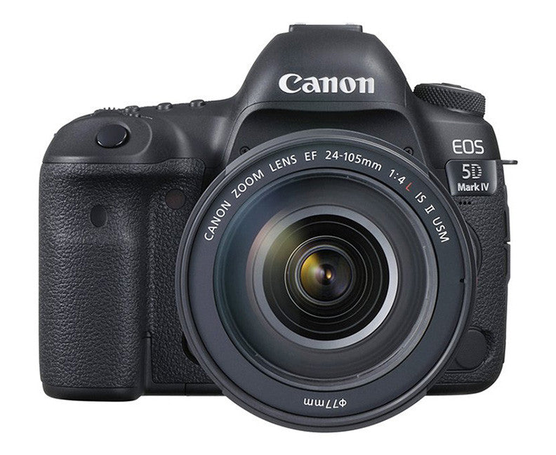 The Canon 5D Mark IV with 25-105mm lens