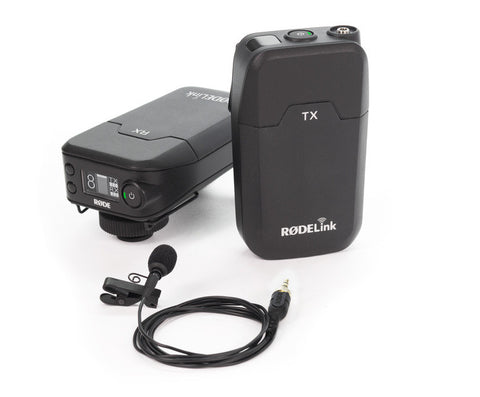 RodeLink Filmmaker Lavalier Digital Wireless System