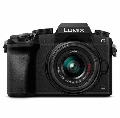 Panasonic Lumix DMC-G7 Mirrorless Digital Camera with 14-42mm Lens (Black), camera mirrorless cameras, Panasonic - Pictureline  - 1