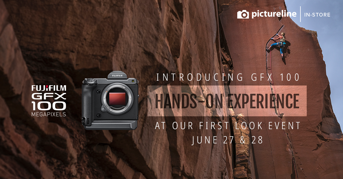Fujifilm GFX 100 First Look (June 27-28th, Thursday-Friday)