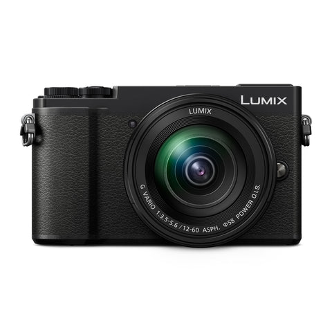 Panasonic Lumix DC-GX9 Mirrorless Micro Four Thirds Digital Camera w/ 12-60mm Lens (Black)